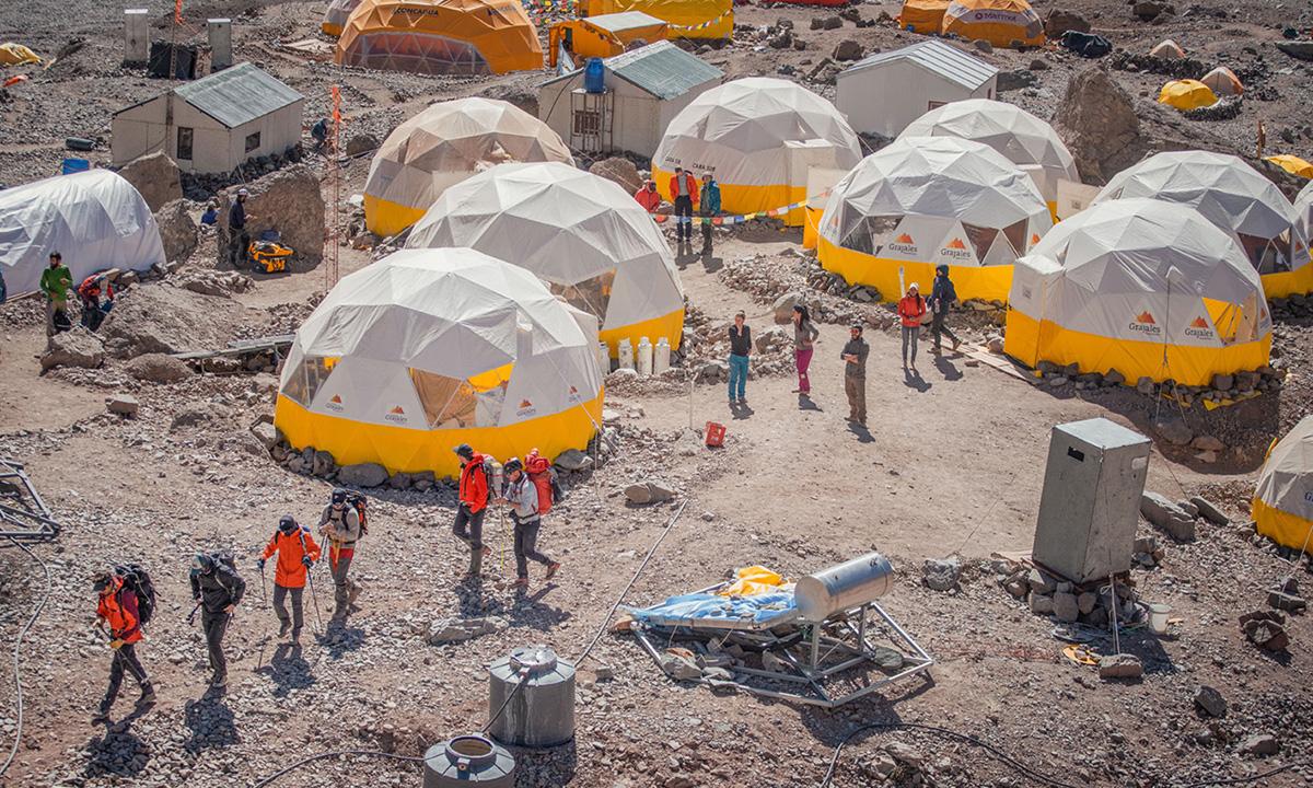 Mt. Aconcagua - Grajales Expeditions
