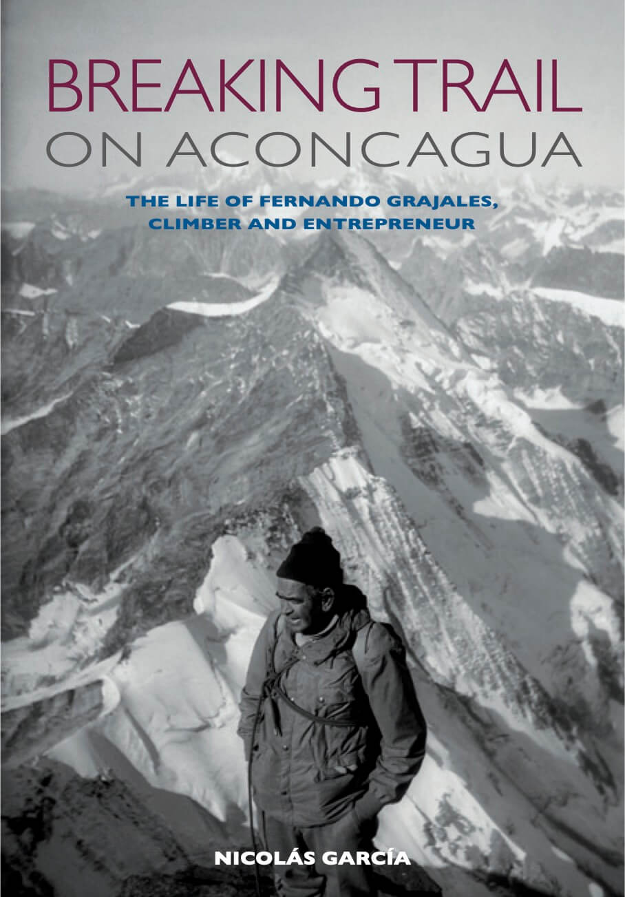 Breaking Trail on Aconcagua